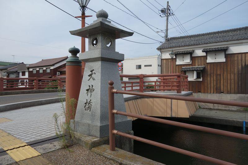 鳥取県米子の旧加茂川周辺で、地蔵探し&寺院巡り!