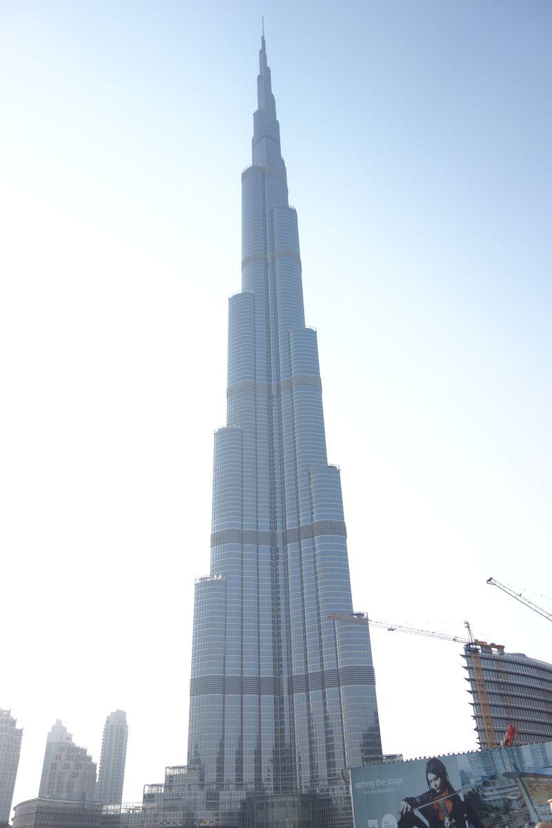 見よ!世界一高いビルはドバイの「ブルジュ・ハリファ」だ!