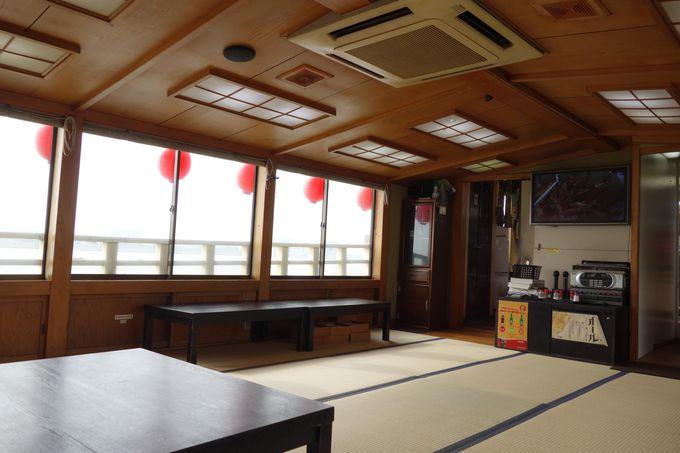屋形船から見る羽田空港