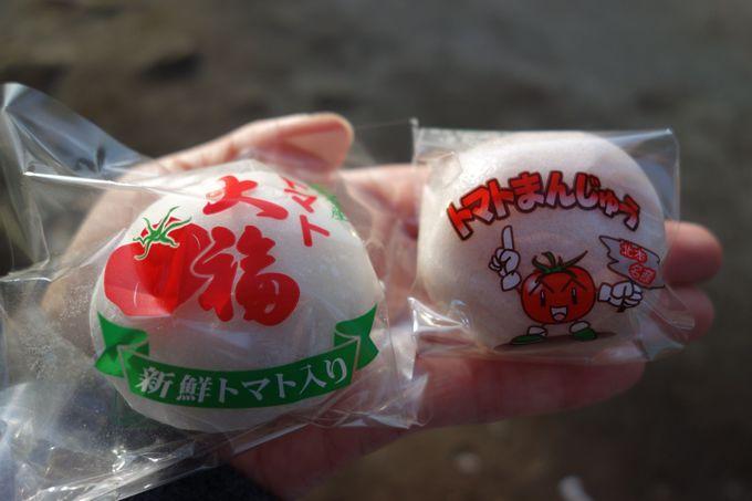 トマト大福&トマトまんじゅう