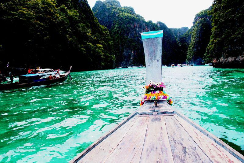 幻のビーチにも上陸!プーケットから『ピピ島』への1日旅