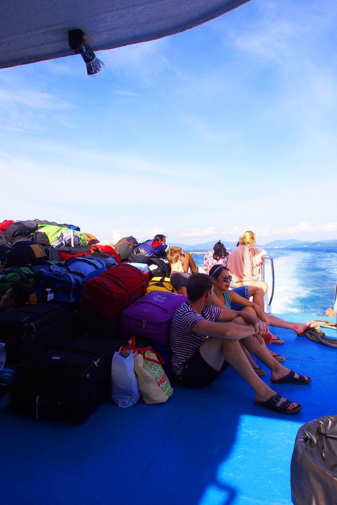 『ピピ島』まではフェリーかスピードボートで!