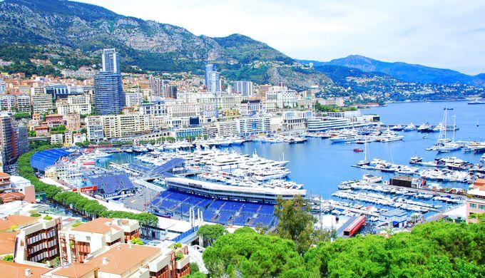F1モナコGPでもお馴染み「モナコ港」