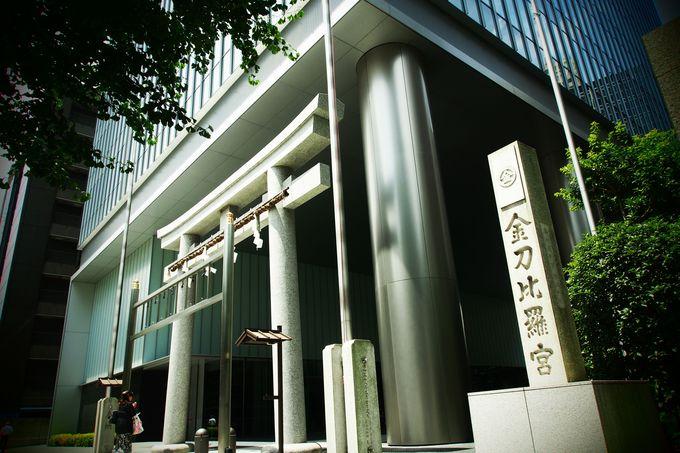 これぞ東京のパワースポット!高層ビルと一体化したシティ派神社!?