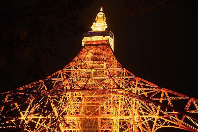 暖かみがあっていいんです!冬色東京タワー