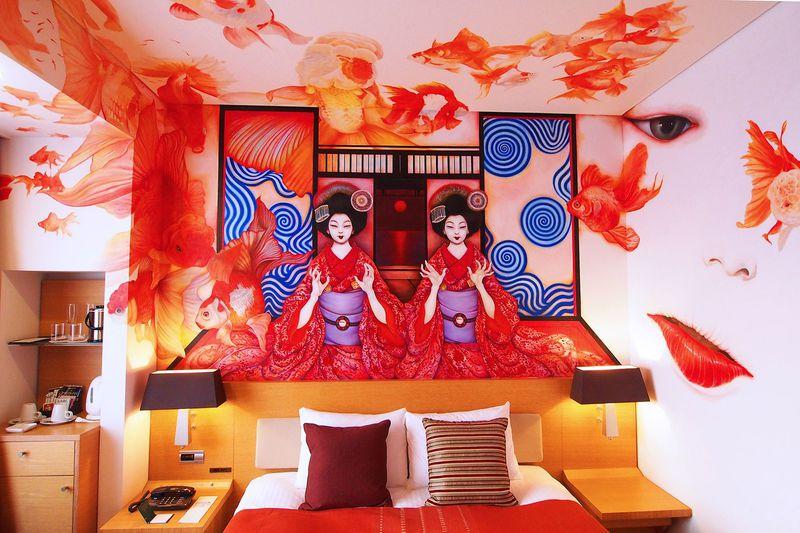 眠りたくないほど刺激的!パークホテル東京・アーティストルーム