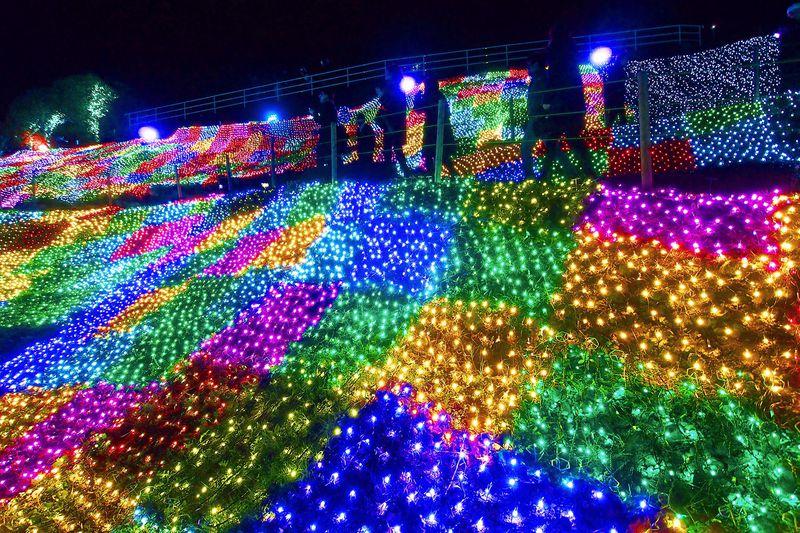 伊豆ぐらんぱる公園「グランイルミ」高密度イルミネーションがすごい!