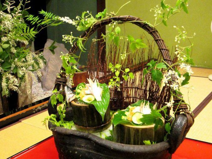 細部にまでこだわった美しい日本料理
