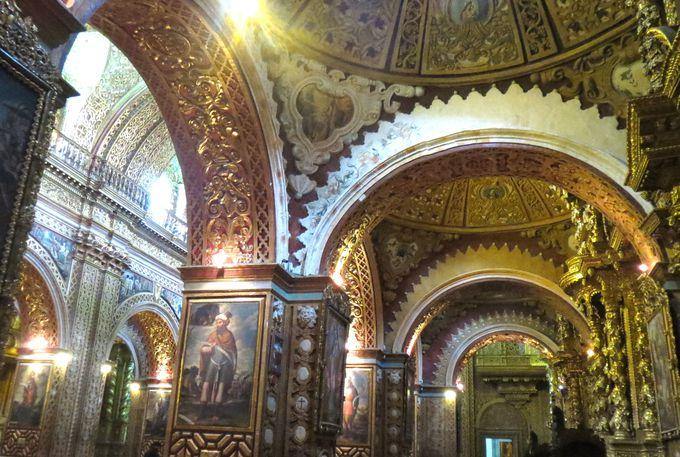 ラテンアメリカ最高傑作の建築とも称されるキトの宝