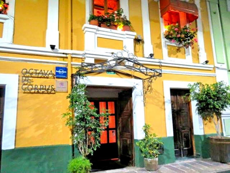 エクアドル・キト〜世界遺産地区にある不思議なお屋敷レストラン