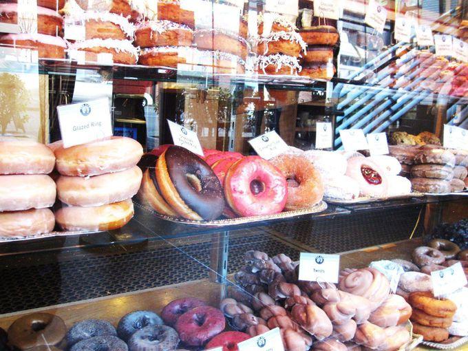 シアトル・コーヒーと一緒に、市長も大好きなドーナツはいかが