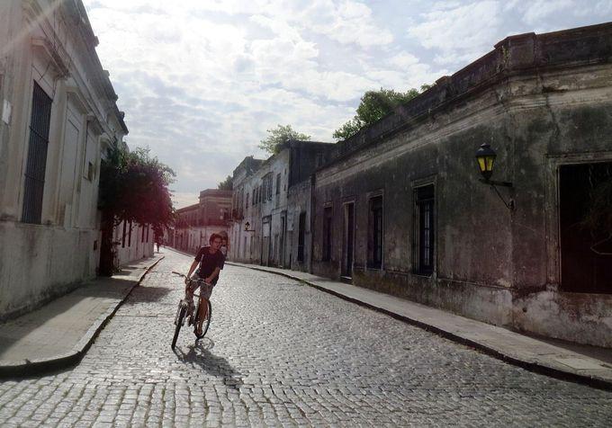 2つの文化が入り交じる旧市街