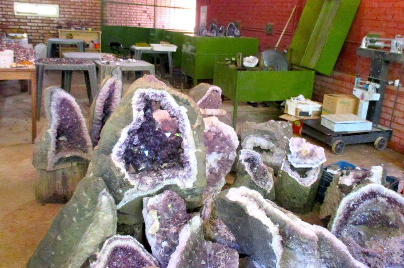 宝石がザクザク夢の巨大鉱脈!アルゼンチン『ミネラ・ワンダ』