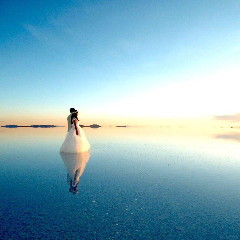 """まさに""""塩の城(パラシオ・デ・サル)""""!ウユニ塩湖No1の塩のホテル"""