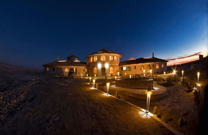 ボリビア式風水を取り入れたボリビア唯一のホテル