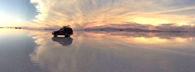 さあ、思う存分ウユニ塩湖を楽しみましょう!