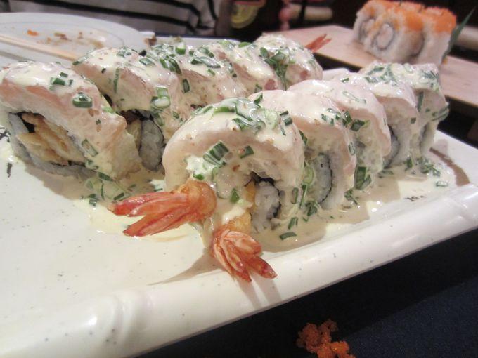 一押しは『セビッチェ寿司』