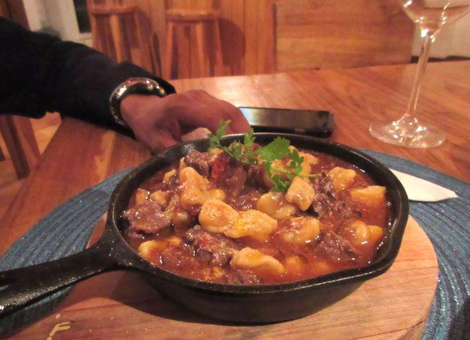 料理はフランスとエクアドルの融合