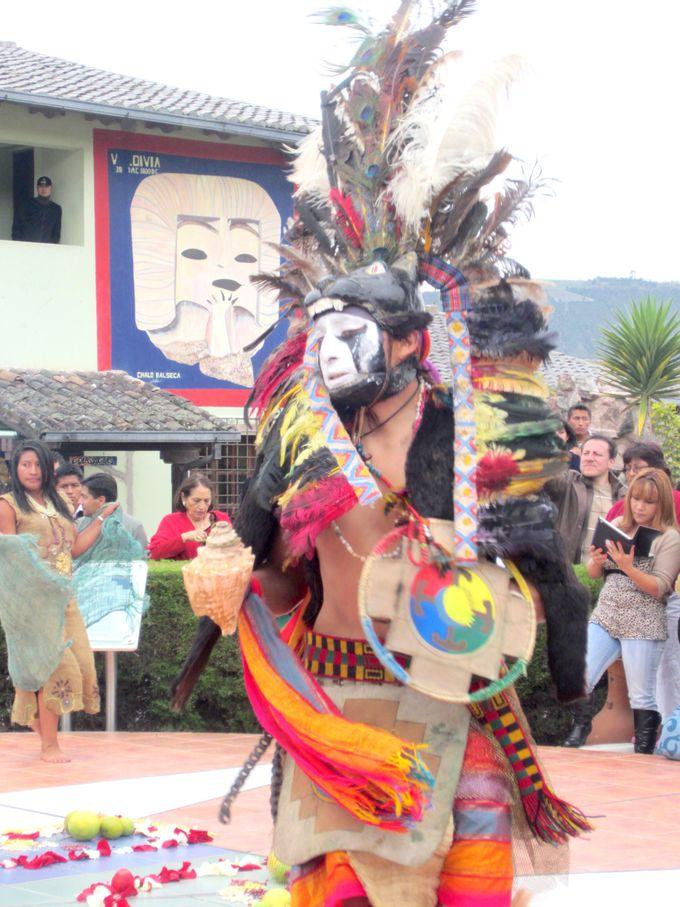 赤道とアンデスの文化を楽しく知るイベントが華やか