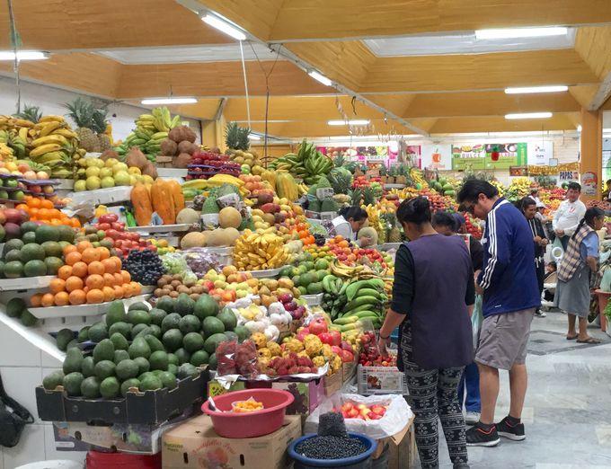 珍しい野菜や果物のオンパレード