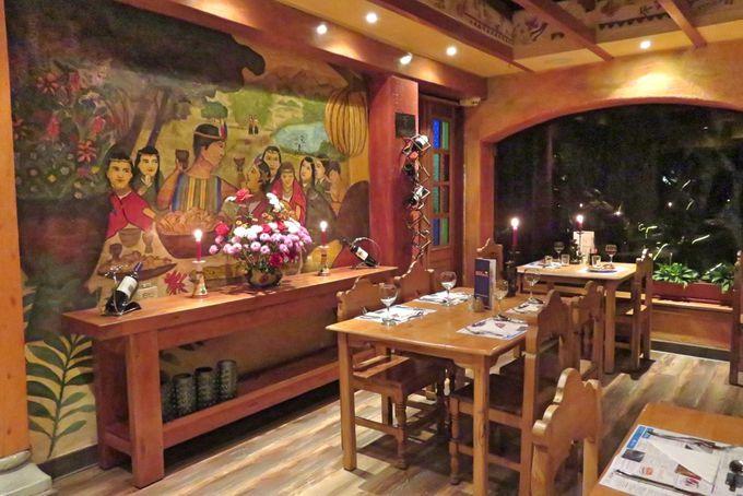 「月のレストラン」と「スカイ・カフェ」