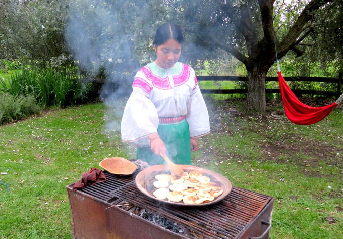 カヤンベの食事