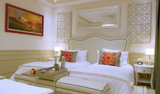 ノスタルジックな雰囲気の客室