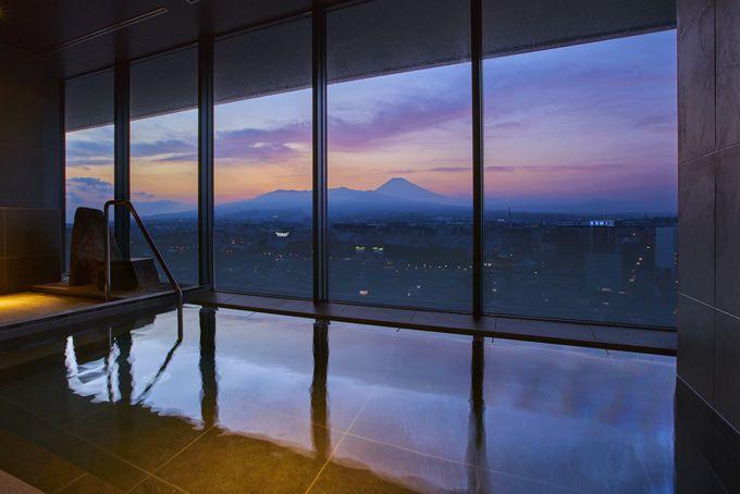 「富士の湯」と三島の恵を楽しむレストラン