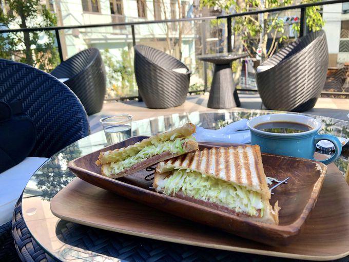 ホテル1F「ダカフェ」の朝食