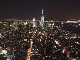 マンハッタンの中心から夜景を拝む!エンパイア・ステート・ビルディング