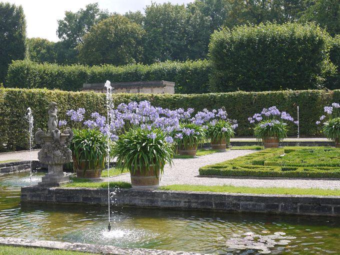 世界的に有名なバロック式庭園、ヘレンハウゼン王宮庭園