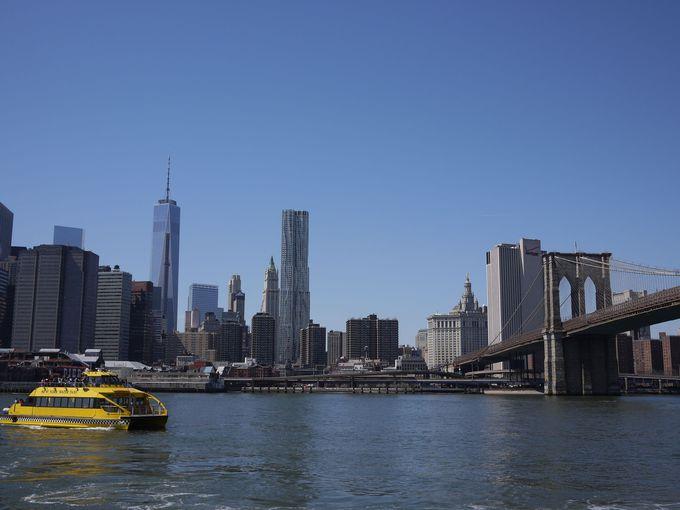 ブルックリンブリッジとワンワールドトレードセンター