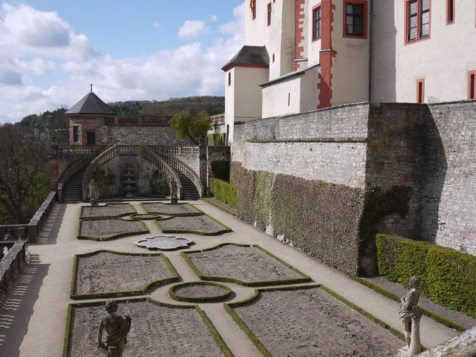 マリエンベルク要塞とシーボルト博物館