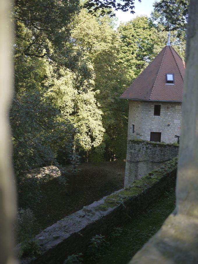 お城の雰囲気をしばし堪能