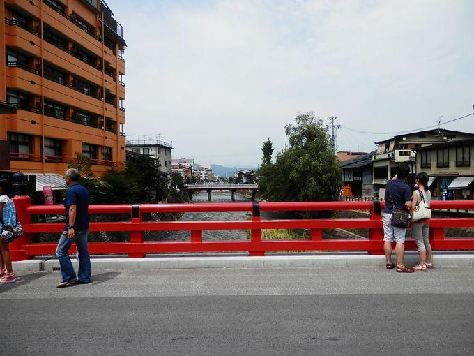 東海地方の方にはお馴染みの高山の橋。