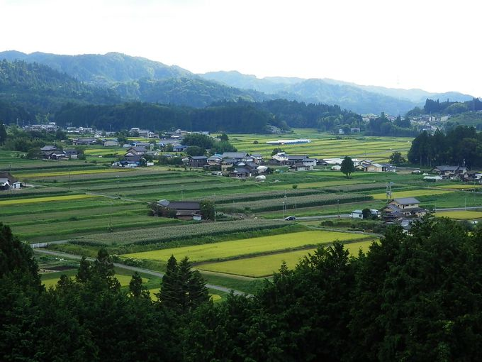 岩村は日本一の農村景観にも選出