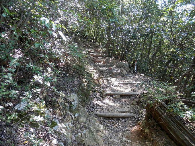 岐阜城へは、ロープウェーでも徒歩でも登頂可能です