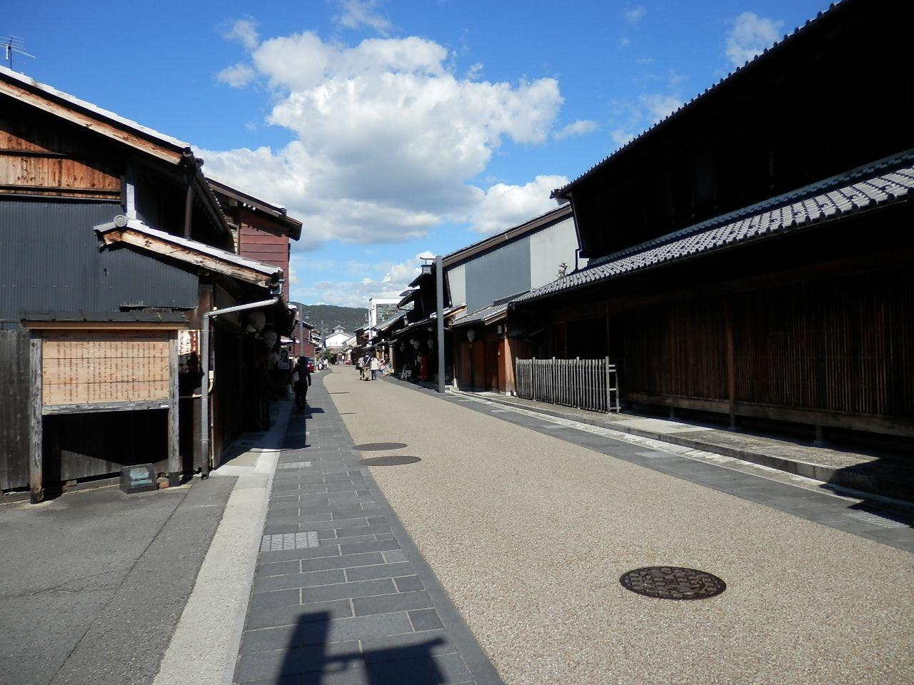 岐阜城とセットで散策を。昔の情緒ただよう川原町