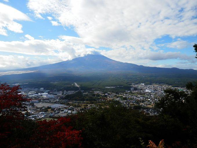 カチカチ山から見る富士山もおすすめ