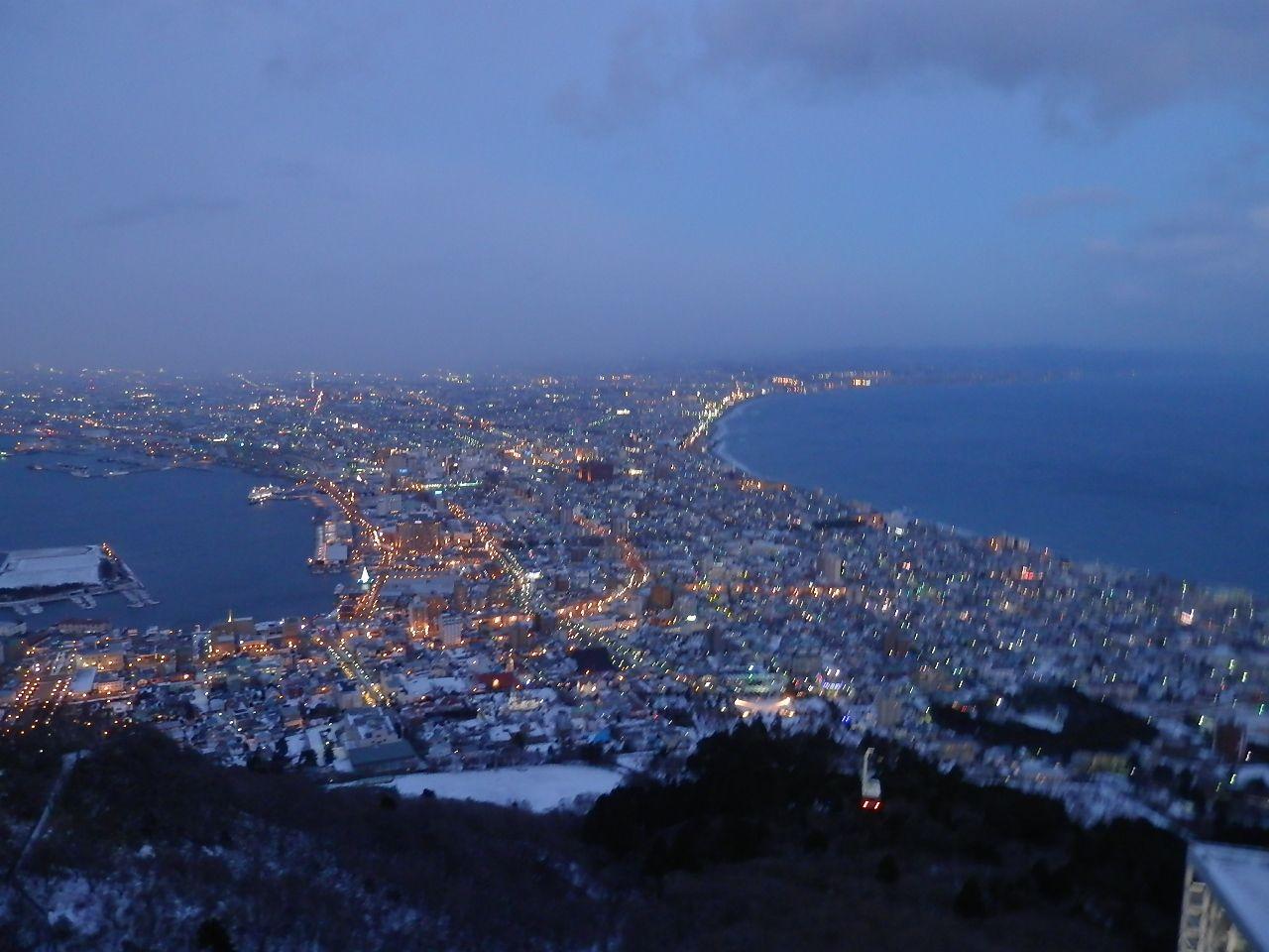 これぞ定番!ベイエリア散策から函館山100万ドルの夜景鑑賞