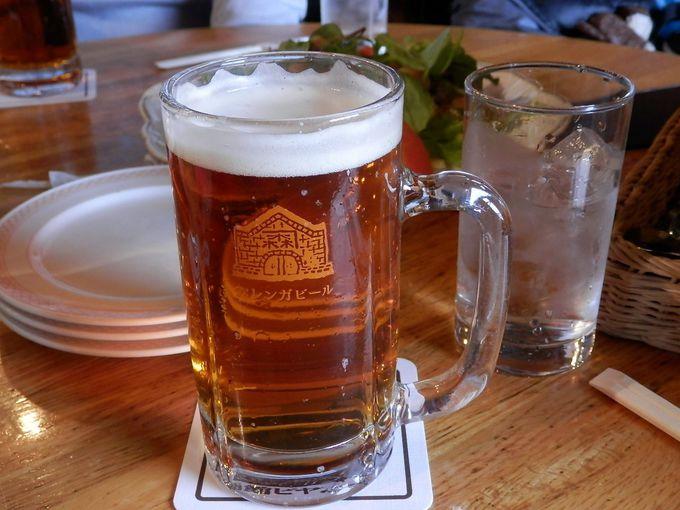 函館地ビールは、口当たりよく飲みやすい