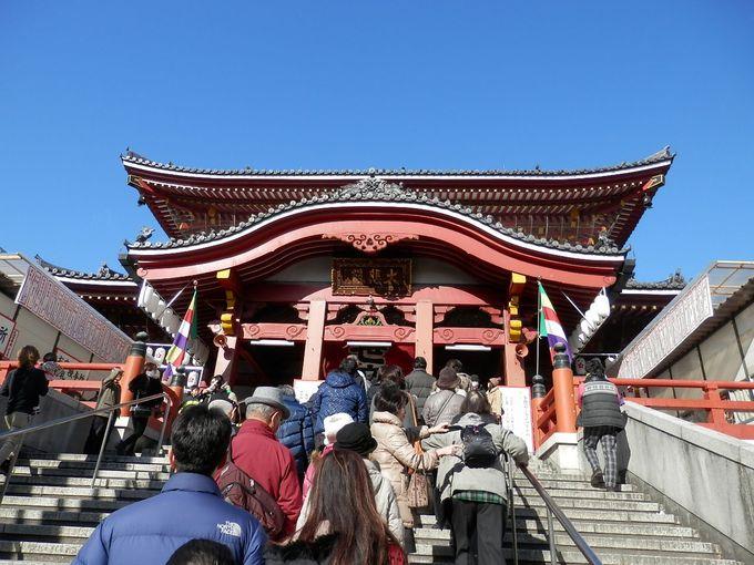 先ずは大須の中心、大須観音でお参りを