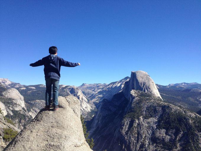 グレイシャーポイント(Glacier Point):上からの眺め