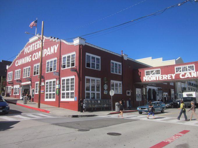 イワシの缶詰工場が並んでいたキャナリー・ロウ