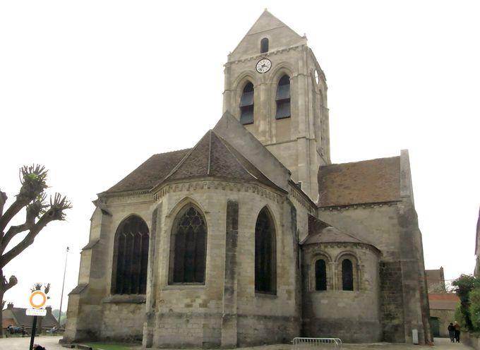 7.オーヴェルの教会/フランス