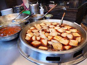 臭豆腐だらけ!台湾の「深坑老街」で食わず嫌いを克服?!