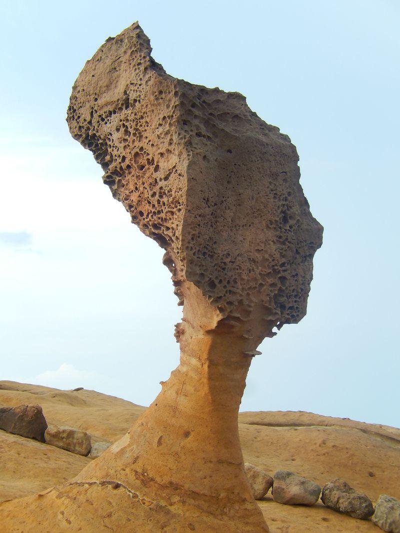 まるで異星探検?!奇岩だらけの台湾「野柳地質公園」は自然がつくった芸術作品!