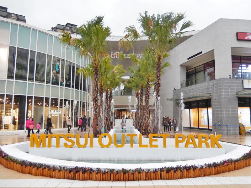 「三井アウトレットパーク」台湾初上陸!注目度NO1、ブランド充実、行列ができる人気店も!