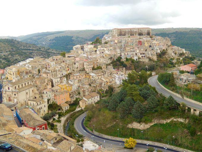 上の町スーペリオーレから見る絶景