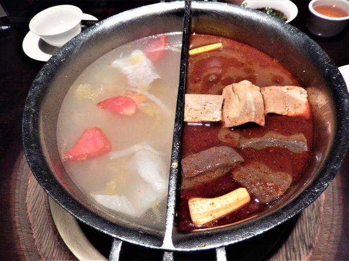 一挙両得の「鴛鴦鍋」